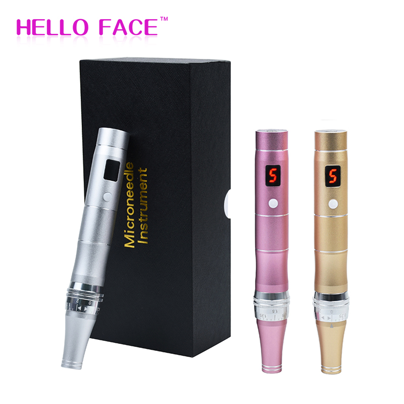 Electric Auto Derma Pen ULTIMA Korea Wireless LCD Screen Micro Needling Derma Rolling Machine Skin Care Beauty Meso Derma