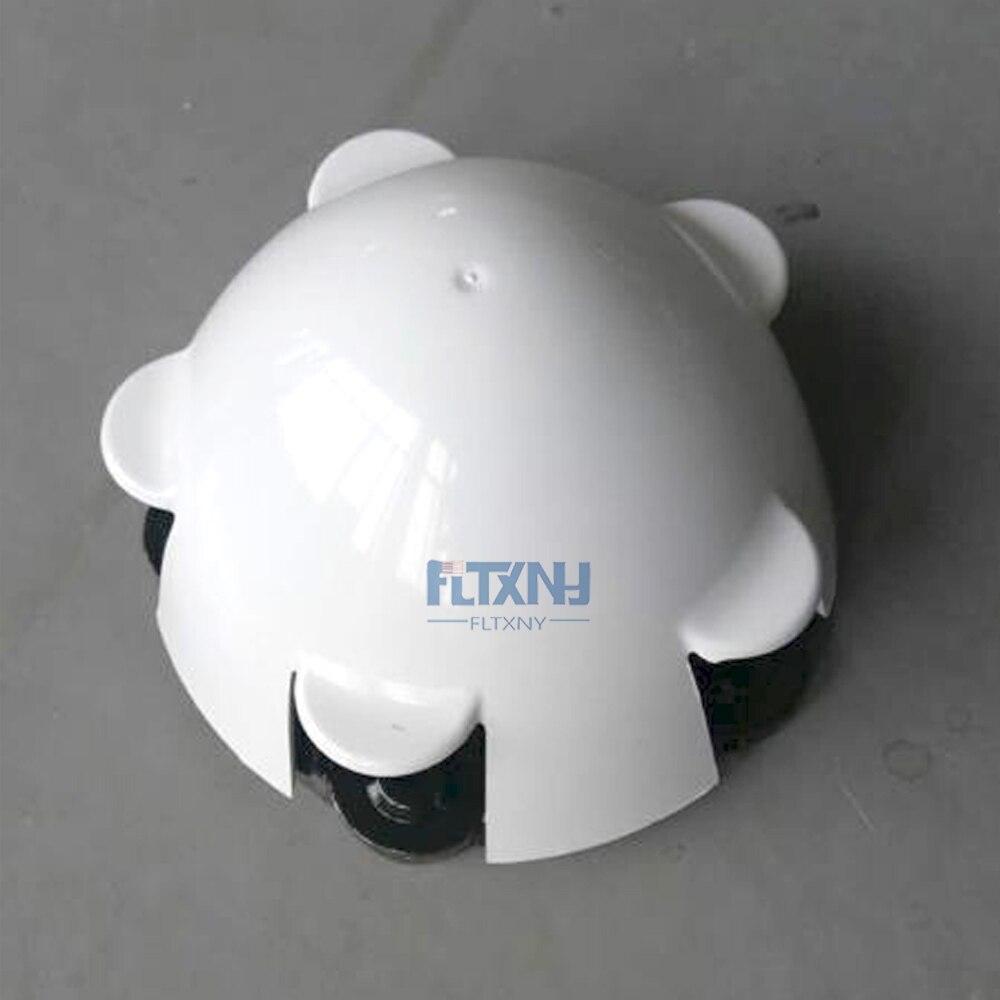 Cubierta de capó para turbina de viento Horizontal, cubierta de nailon de 100w, 200w, 300w y 400w, accesorios de calidad para parte fija de generador de viento