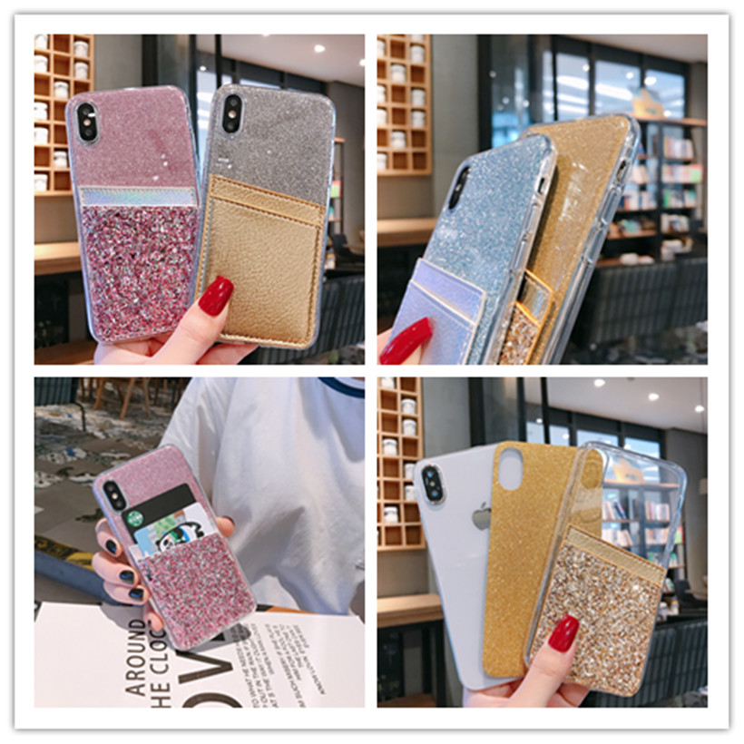 Wallet <font><b>Glitter</b></font> <font><b>Case</b></font> For <font><b>Nokia</b></font> 7 <font><b>7.1</b></font> 1 4.2 6 2018 6.1 Plus 3.2 8.1 9 X6 X7 X71 2.2 Covers image