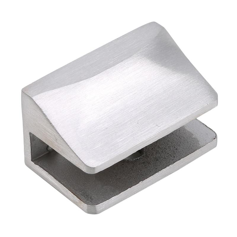 Поддержка кронштейна офисный стол стеклянный экран папка зажим из нержавеющей стали стеклянный зажим стеклянная полка-держатель