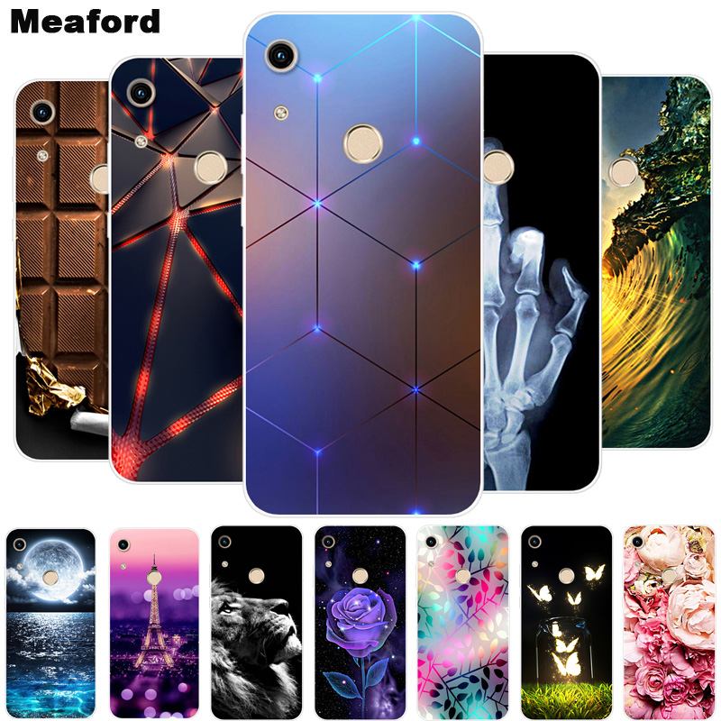 For Huawei Y6S Case Soft Silicone Back Cover Case On For Huawei Y6S 2020 Phone Back Cover Y 6S Y6S JAT-LX1 LX3 L29 L41 Fundas