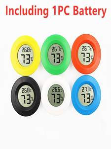 Mini Hygrometer Temperature-Sensor Weather-Station Indoor Digital for LCD Convenient