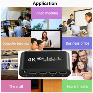 Image 5 - HDMI ses Extractor dönüştürücü 5.1CH/ 2CH ses dağıtıcı kablosu 4k Stereo Analog HDMI HDMI optik SPDIF adaptörü dönüştürücüler
