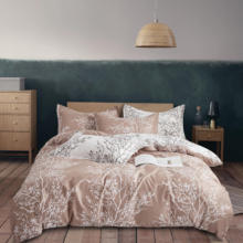 Pillowcase Bedding-Sets Quilt-Covers Flowers Pink 240x220 Nordic Modern Luxury Simple