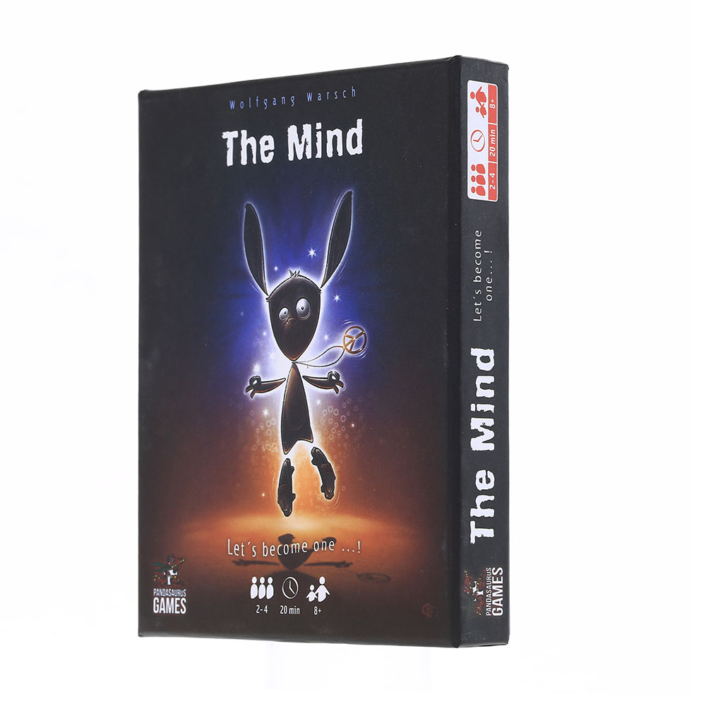 The Mind Card Board Game Table Game Funny Party Deck Game Gift Game Family Friends Entertainment Party Card Games