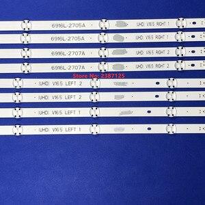 Image 3 - 8 Chiếc Đèn Nền LED Dải Cho 49Inch LG 49UH603V 49UH620V LC490DGE 6916L 2705A 6916L 2706A 6916L 2707A 6916L 2708A 49LJ510T