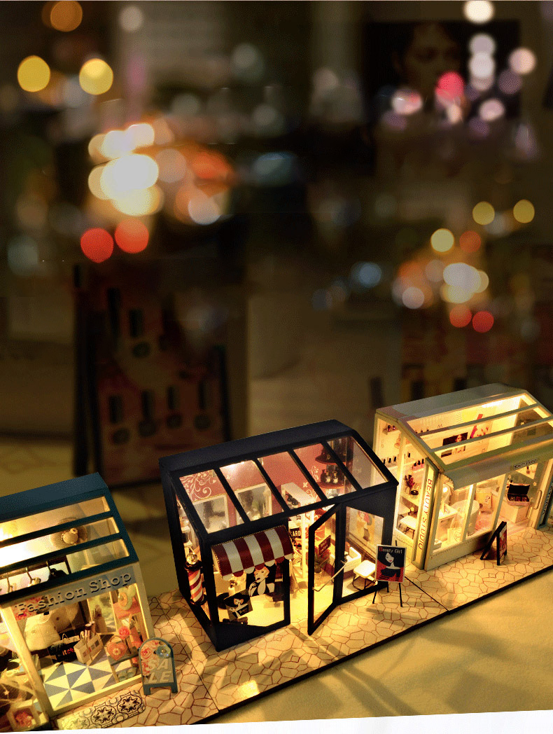 H11407172707f4799be8e4b054e8abc98D - Robotime - DIY Models, DIY Miniature Houses, 3d Wooden Puzzle