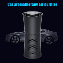 New Car Air Purifier Aromatherapy Car Air Humidifier Humidification Purifiers Low Noise DOM668(China)