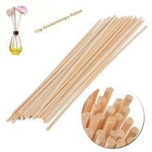 25pcs/100pcs Natural Reed Fragrance Aroma Oil Diffuser Rattan Sticks Perfume volatiles For Home Decoration