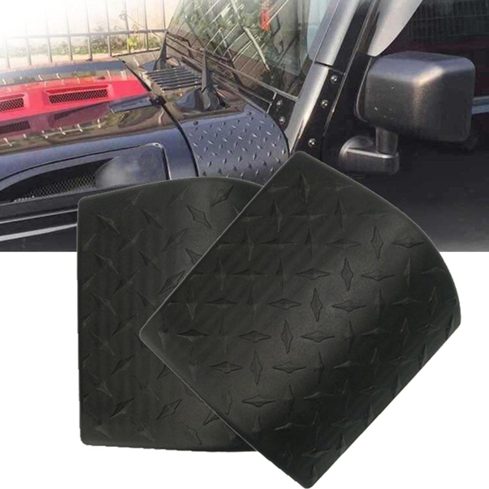 Black Cowl Body Armor Car Sticker Side Outer Cowling Cover 2PCS For J-eep Wrangler JK 2007-2017ABS Body Armor Car Accessories
