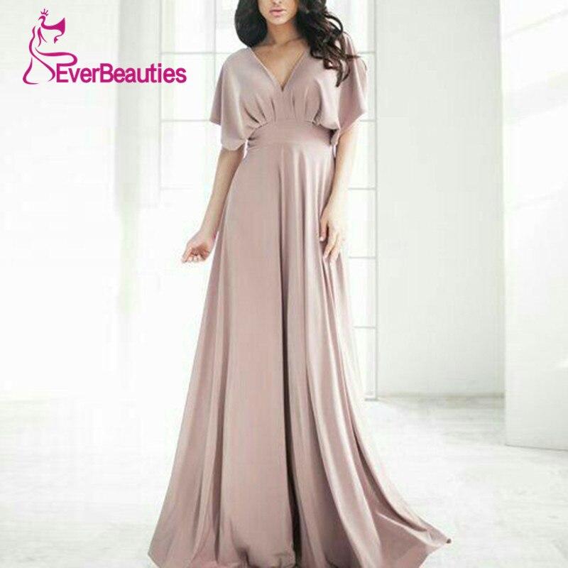 Elegant 2019   Bridesmaid     Dresses   Graceful Party   Dress   Chiffon Robe De Demoiselle D Honneur Vestido Fiesta Vestido De Festa Longo