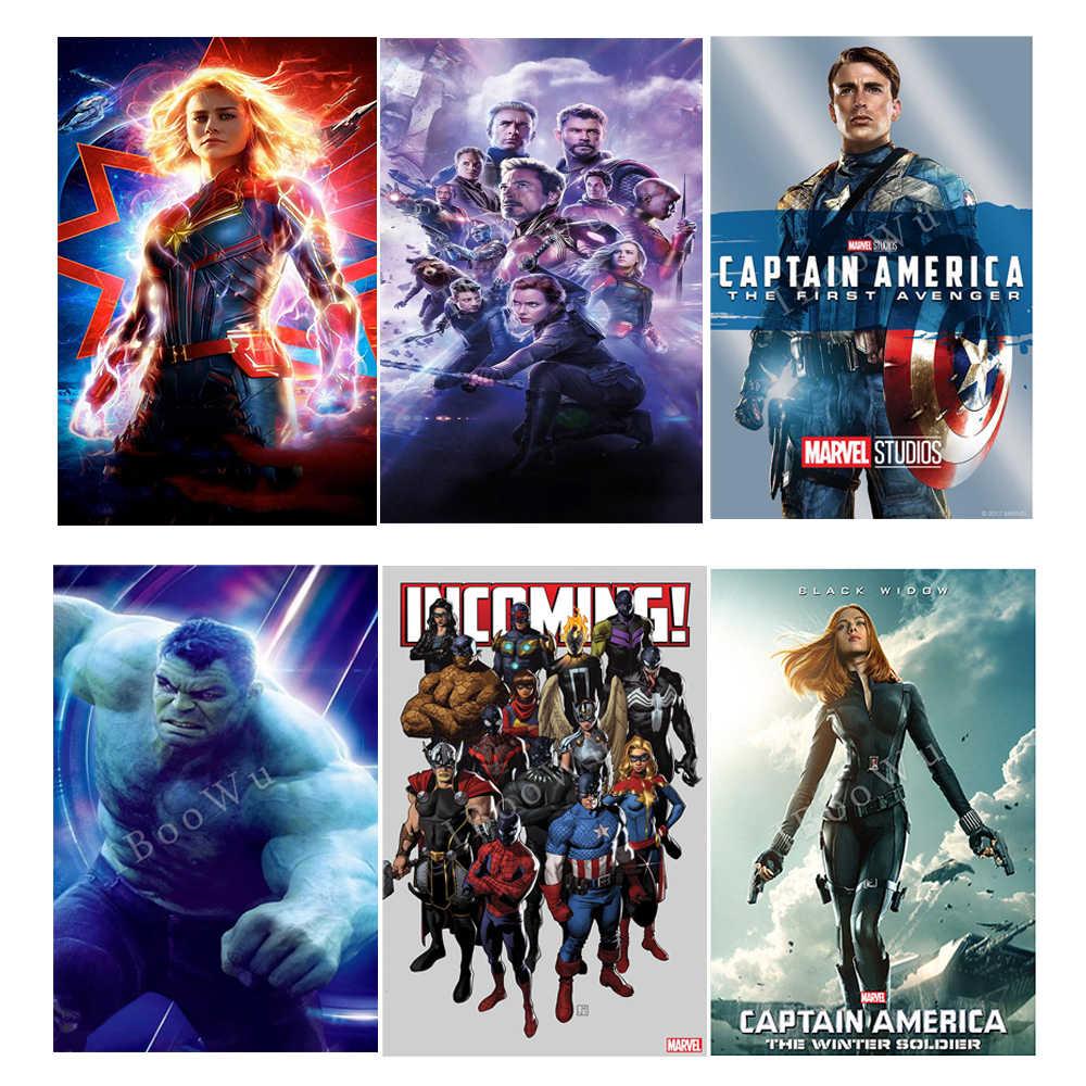 "TIN SIGN /""Captain America/"" Movie Marvel Wall Decor Mancave Hero Gift"