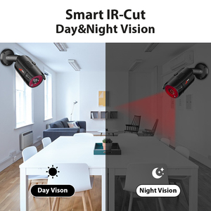 Image 5 - ANRAN 4CH CCTV 시스템 4PCS 1080P 야외 비바람에 견디는 보안 카메라 AHD DVR 키트 주/야간 홈 비디오 감시 시스템