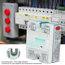 цена на DC-AC Single Phase Solid State Relay 4-32V 24-480V 10A For Circuit Adjustment Electric Equipment Part