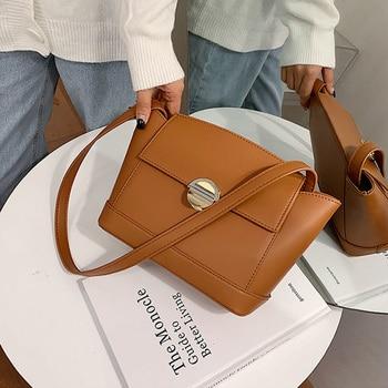 Luxury Women's Shoulder Bags 2020 New Designer Small Crossbody Top Quality PU Leather Purse Handbags Travel Hand Bag Female - discount item  41% OFF Women's Handbags