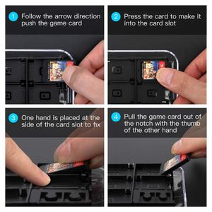 Image 5 - Nintend Switch 12 in 1 Game Memory Card Micro SD Case Holder for Nintendo Switch NS Lite Cartridge Storage Box With Strap