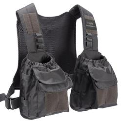Bassdash D96 Fly Fishing Vest Tactical Chest Pack for Men Women Adjustable Sizes