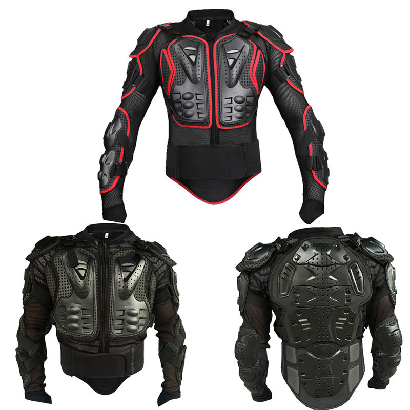 Veste de course de motocross armure de moto pour honda grom msx125 yamaha r3 échappement suzuki bandit 400 kawasaki ninja