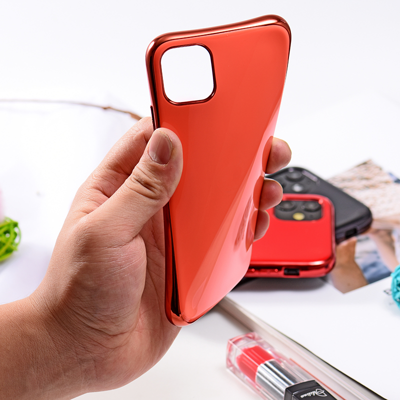soft shell TPU Case Plating Cover For iPhone11 XS Max iPhone X Phone Case Luxury Hard Coque With Logo For phone 11 case 5