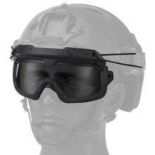 Tactical Helmet Google Motocross Glasses Eye Protection Outdoor Anti Wind Eyewear Cycling Racing Skiing Road Bike Google