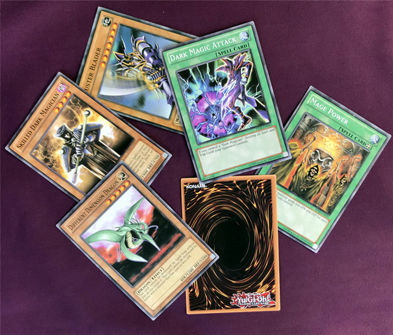 Yugioh Cards Egyptian God Collectible Toys for Boy Free Yu-gi-oh Metal Box 66Pcs Figures Japan Yu Gi Oh Legendary Game Cartas (2)