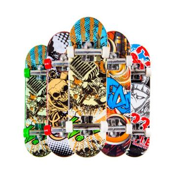 Losowy kolor kreatywny Mini Mini deskorolka podstrunnica peeling Mini hulajnoga Fingerboard Skate Truck Mini deskorolka na zabawka dziecięca na prezent tanie i dobre opinie Z tworzywa sztucznego CN (pochodzenie) Mini Finger Skateboard No eating 9 5*2 5*1 5cm Finger deskorolki 5-7 lat random color