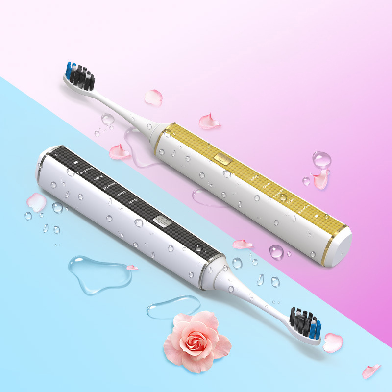 Sonic Power Super Bright Toothbrush 5 Smart Modes and Wireless Charging Adult Electric Toothbrush Travel Toothbrush