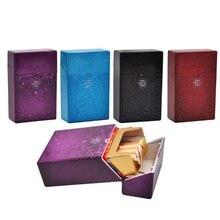 Камуфляжный пластиковый чехол для сигарет защитная коробка откидная