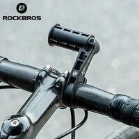 Rockbros Bike Fahrrad Multifunktions Lenker Erweitert Sitze Klammern Extender Für Radfahren Lichter Lampen Tacho Handy Schwarz