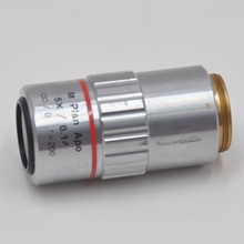 Mitutoyo Z03120614 5X 0.14 f = 200 microscope lens without scratches