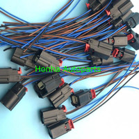 Free shipping 100 pcs/lots Molex Connector Plug 3 pin connector Wiring Harness 31404 3110
