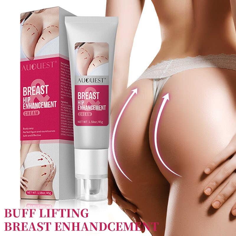 New AUQUEST seno Butt Enhancer pelle rassodante e Lifting crema per il corpo crescita rapida crema per l'ingrandimento del culo cura del corpo per le donne 45g 2