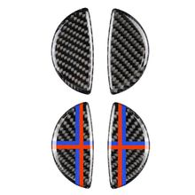 цена на 3D Epoxy Car Interior Door Handle Cover Stickers for Mini Cooper R56 R55 R60 R61 Countryman Accessories Car Styling