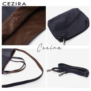 Image 4 - CEZIRAมังสวิรัติหนังแฟชั่นผู้หญิงToteกระเป๋าถือ 2 สีReversibleสุภาพสตรีขนาดใหญ่กระเป๋าสะพายCrossbodyกระเป๋าHobo