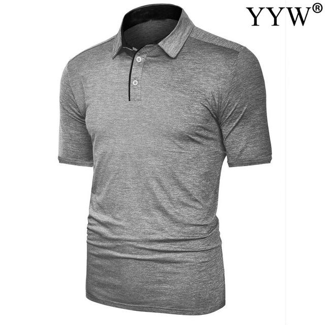 2020 New Summer Golf apparel Men's Golf T-Shirt T Comfortable Breathable Golf Short Sleeve T-Shirt 5