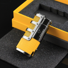 COHIBA Torch Cigar Lighter Butane Gas Cigarette Travel Pocket Size Lighters Refillable Accessories