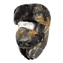 Unisex Skiing Riding Camouflage Winter Cycling Bomber Hat Pr