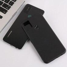 цена на For Umidigi A7 Pro Rubber Case Anti knock Black TPU Soft Silicone Back Protective Cover For Umidigi A7 Pro Phone Case