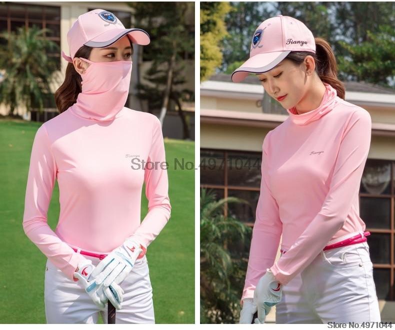 Camisetas de treino de golfe