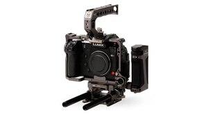 Image 5 - TILTA caméra Cage pour panasonine S1 S1H S1R DSLR caméra avec support de chaussure froide pour Micrphone Flash Light TA T38 FCC G