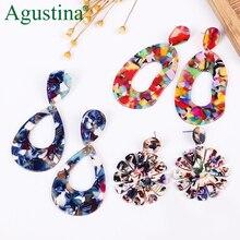 Agustina 2020 Dangle Earrings For Women Punk Earrings Fashion Jewelry Bohemian Pendientes Plata Earrings gift Resin Drop Earring