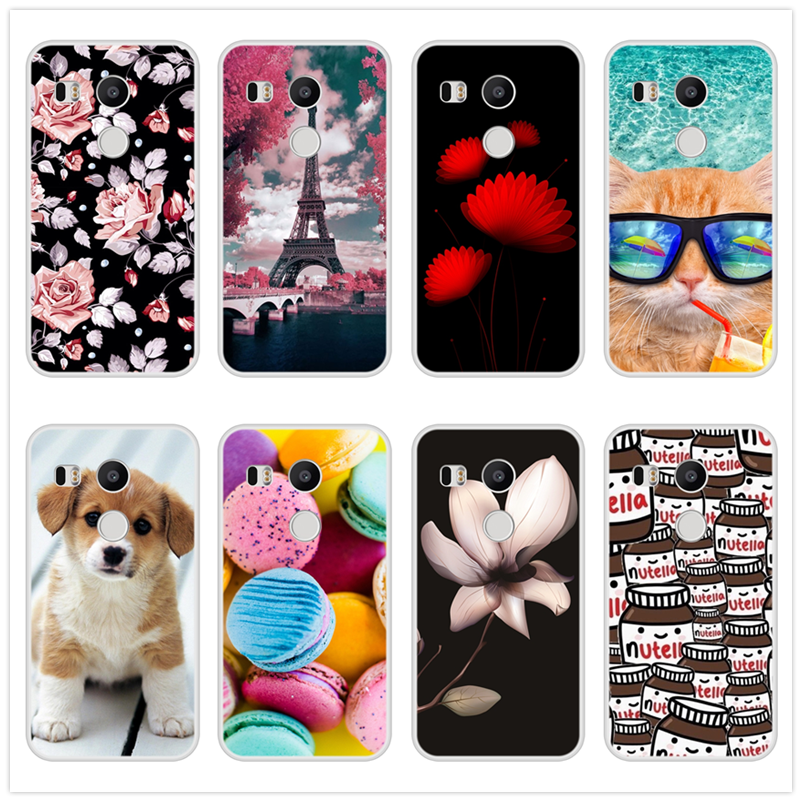Case for Google Nexus 5x Soft Silicone TPU Cool Design Patterned Print Cover for Google Nexus 5x Phone Case image