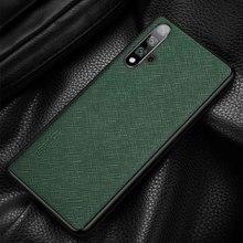 Étui pour Huawei en cuir véritable Honor 20 Pro étui Coque arrière Durable Etui Coque pour Huawei Honor 20Pro boîtier de Protection