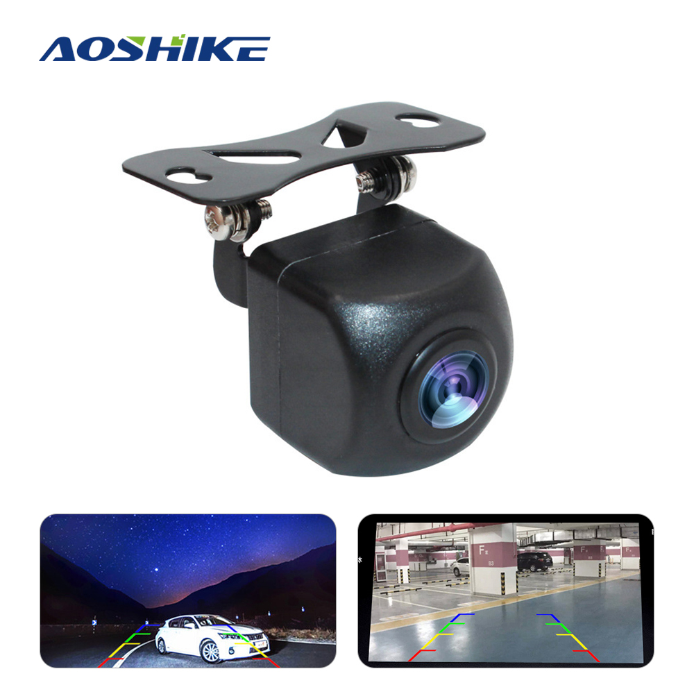 AOSHIKE Car Rear View Camera SONY MCCD Fisheye Auto Backup Reverse Camera Wide Angle Night Vision HD Parking Assistance Cam