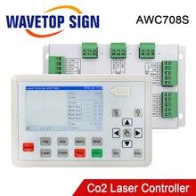 Trocen AWC708S Co2 Laser Controller Systeem Voor Co2 Lasergravure Snijmachine Vervangen AWC708C Lite Ruida Leetro