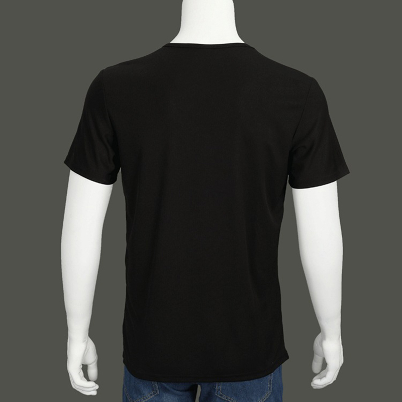 New Men Waterproof Stain-Proof Quick Dry Antifouling T-Shirt Breathable Tees For Summer SCI88