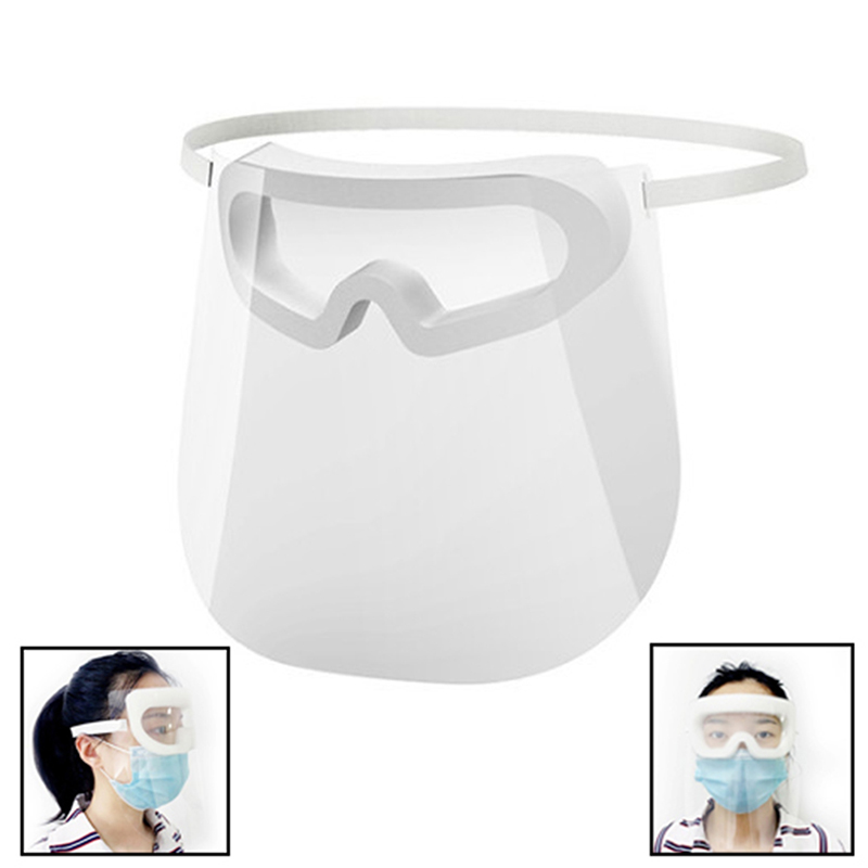 1pc Transparent Face Shiled Safety Protective Face Cover