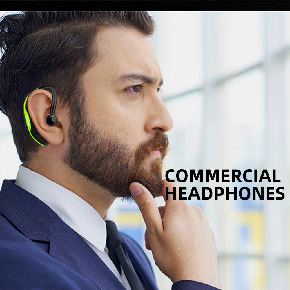FDBRO бизнес Bluetooth гарнитура беспроводная гарнитура водительские Водонепроницаемые Универсальные наушники F600 Bluetooth 4,1 длительный режим ожидания с микрофоном