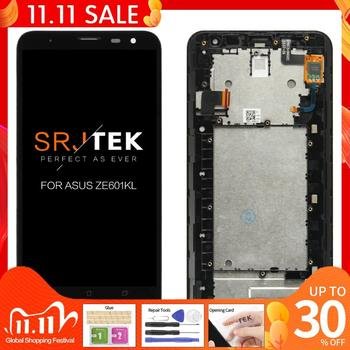Original 6.0'' 1920x1080 TFT LCD For ZenFone 2 Laser ZE601KL LCD Display Z011D ZE 601KL Touch Screen Digitizer Replacement Parts image