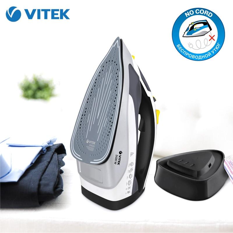 Fer VITEK VT-8312 electrique sans fil linge sans fil electroménager vapeur
